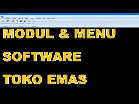 Software Toko Emas