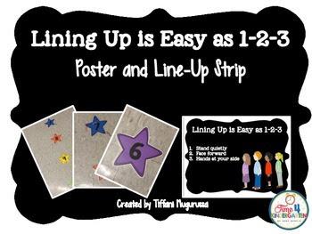 lining up, kindergarten line up