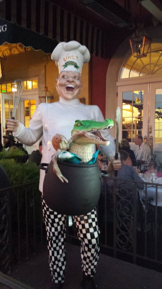 Ralph Brennan's Jazz Kitchen - Anaheim, CA, United States. Where is the alligator on the menu?