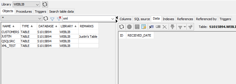 Using descriptive column data on DB2 for IBM i (update to http://www