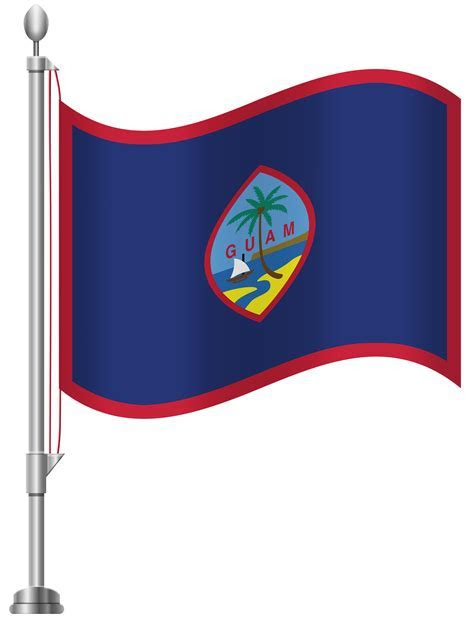 Guam Flag PNG Clip Art   Best WEB Clipart