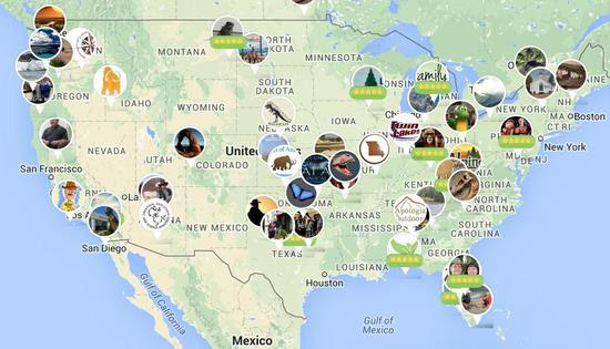 Heres A Map Of Every Creationist Museum In The United