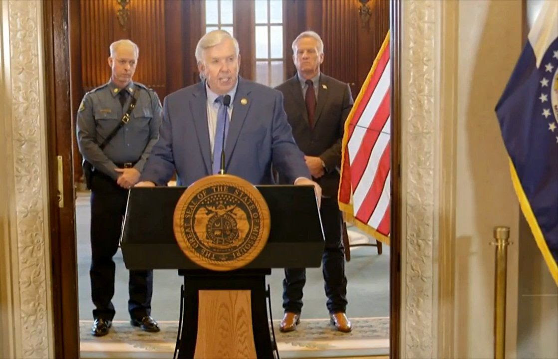 Parson issues legal threat against Post-Dispatch after database flaws exposed