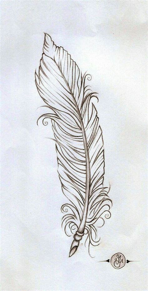 pin  tania   feather doodles   feather