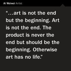 Info re Ai WeiWei's exhibition at the Hirshhorn Museum in Washington D.C. 2012.