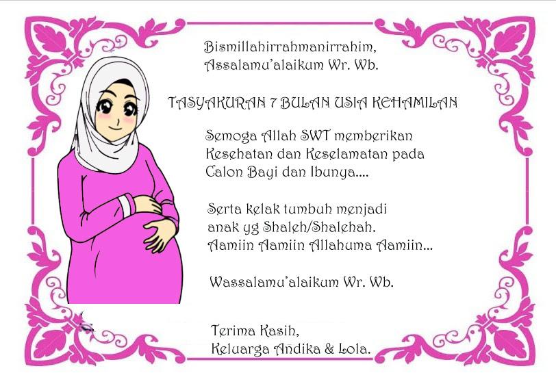 Kata Kata Syukuran 7 Bulan Kehamilan