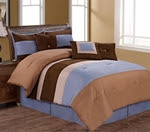 Full, 4-Piece Comforter Sets, Pollack Collection, Microfiber