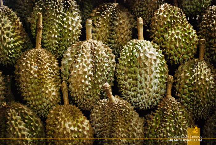Durians Being Sold on the Streets of Iligan City