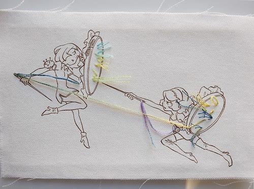 embroidery or die by uramotoyuko