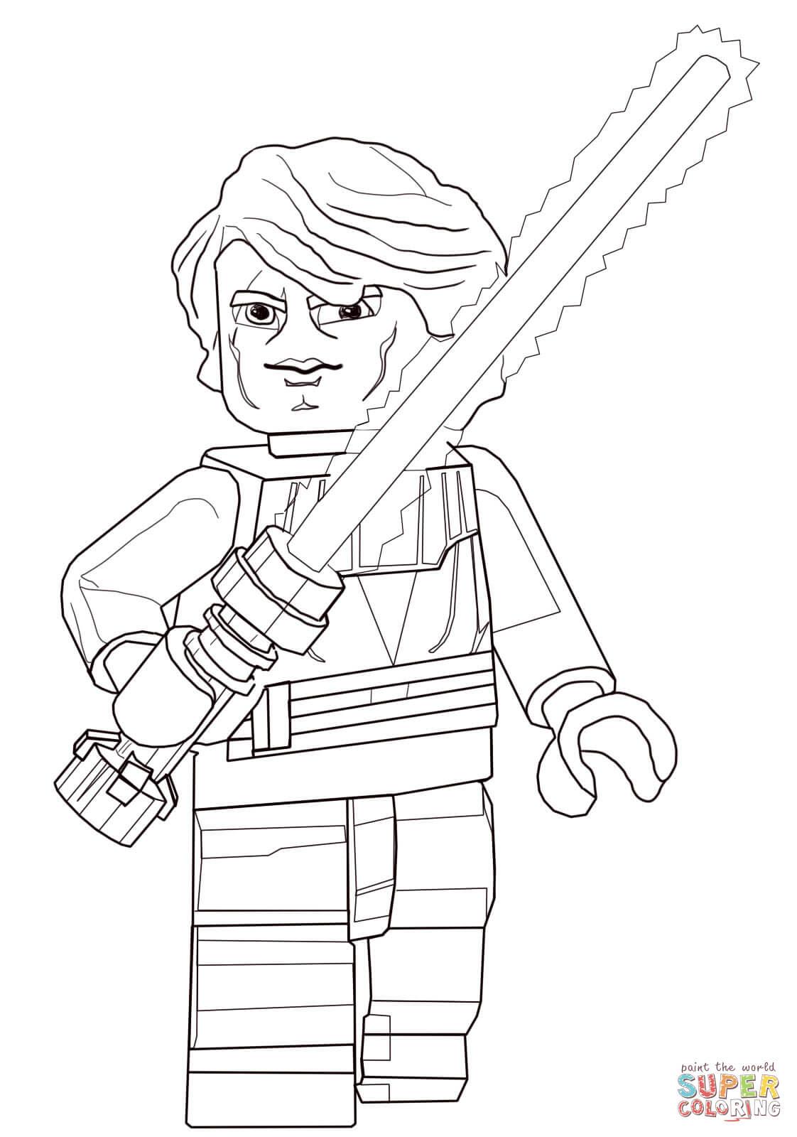 Klick das Bild Lego Star Wars Anakin Skywalker
