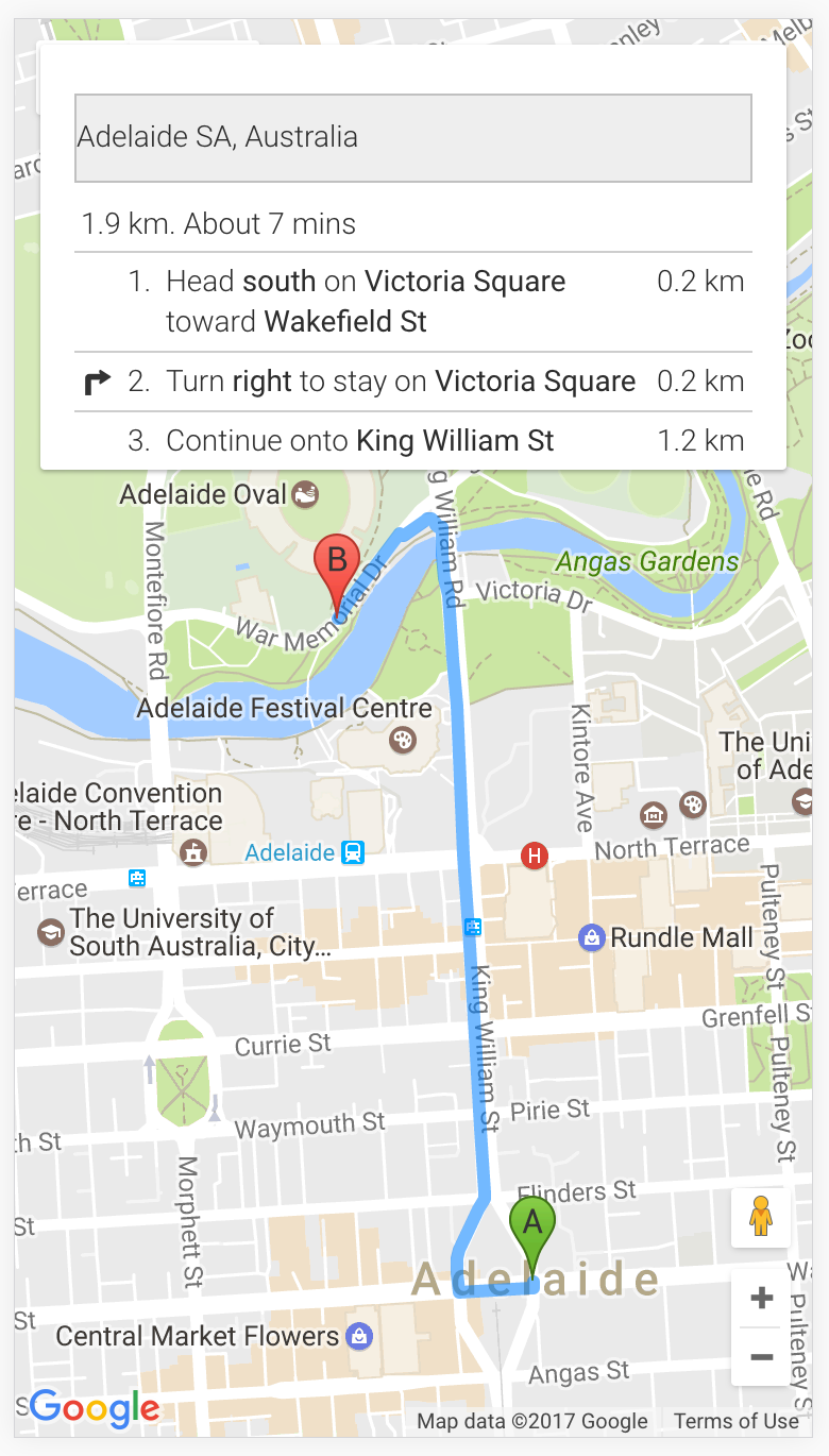 Implementing Turn By Turn Navigation With Google Maps In