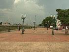 1º dia de junho com chuva e céu nublado (Reprodução/TV Acre)
