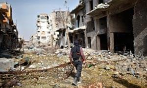 Jabhat al-Nusra fighter in Syria