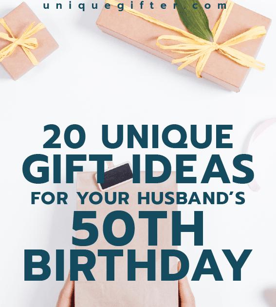 Birthday Present For Husband 50th