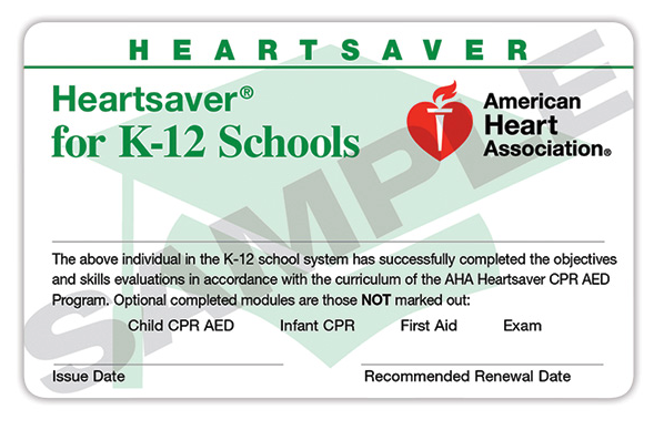 aha aid cpr heart association bls certification