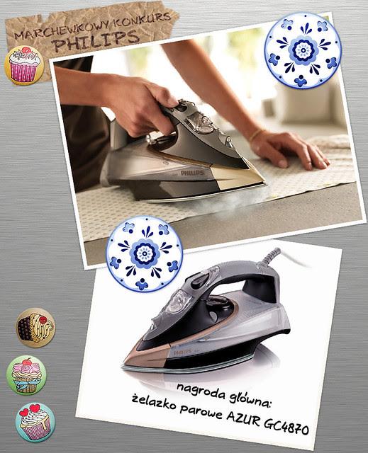 marchewkowa, szafiarka, konkurs Philips, żelazko parowe azur, kampania PerfectCare