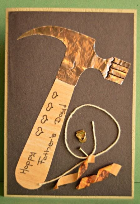 Making a Tools for Father's Day Card   ThriftyFun