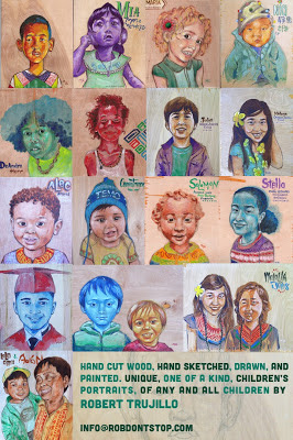 Children's Portraits Collage
