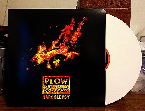 Plow United - Narcolepsy LP - White Vinyl (/100) by Tim PopKid