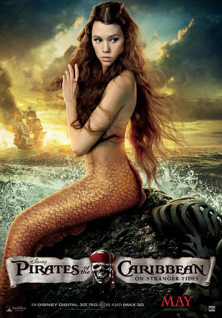 Pirates of the Caribbean: On Stranger Tides - mermaid poster