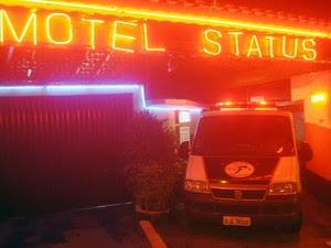 Motel onde foram encontrados corpos de pai e filho em Itaquera (Foto: CRISTIANO NOVAIS/CPN/ESTADÃO CONTEÚDO)