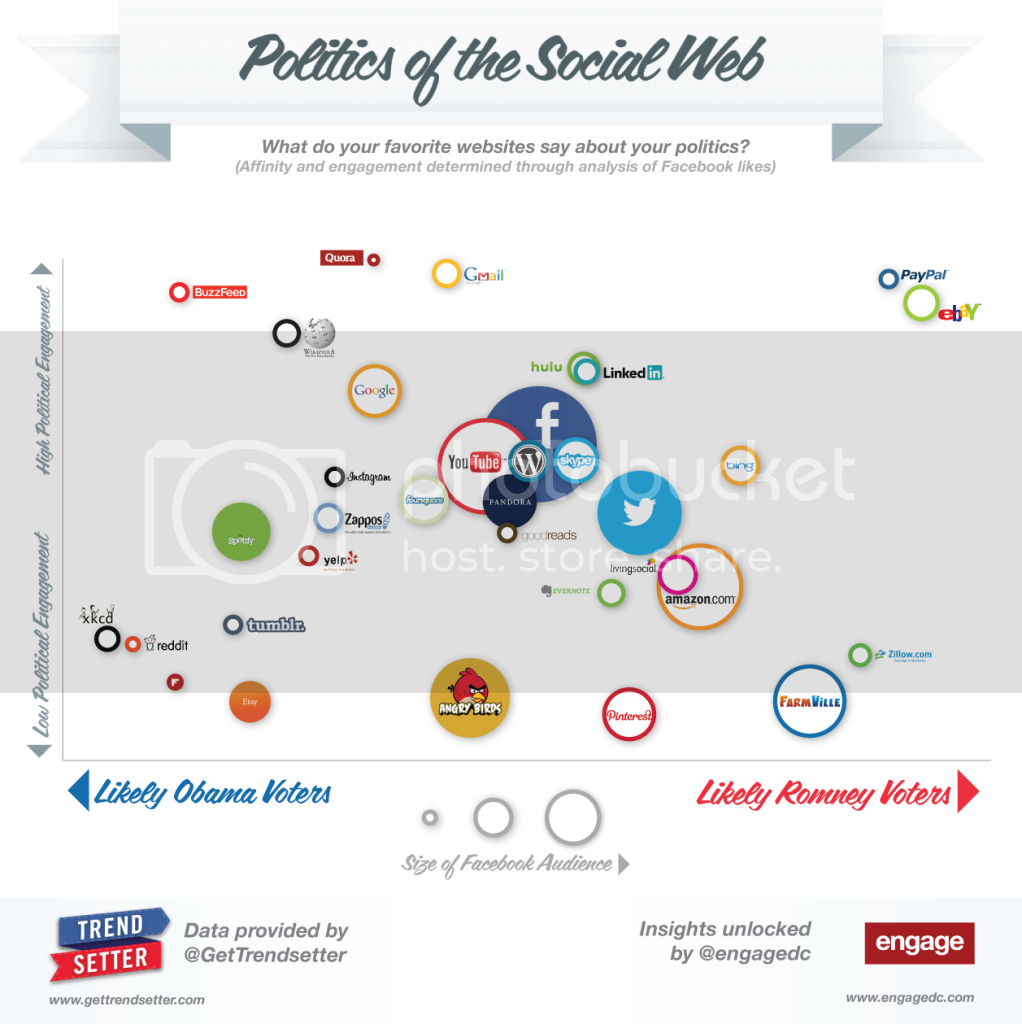 Infographic: 'Politics of the Social Web'