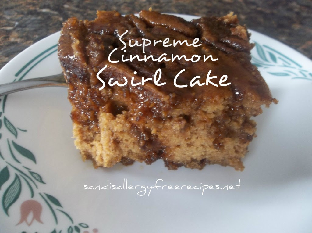Supreme Cinnamon Swirl Cake