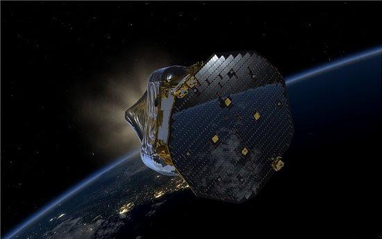 Sonda espacial parte em busca das ondas gravitacionais