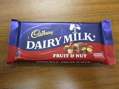 Cadbury Dairy Milk Fruit & Nut