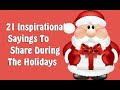 Holiday Inspirational Quotes