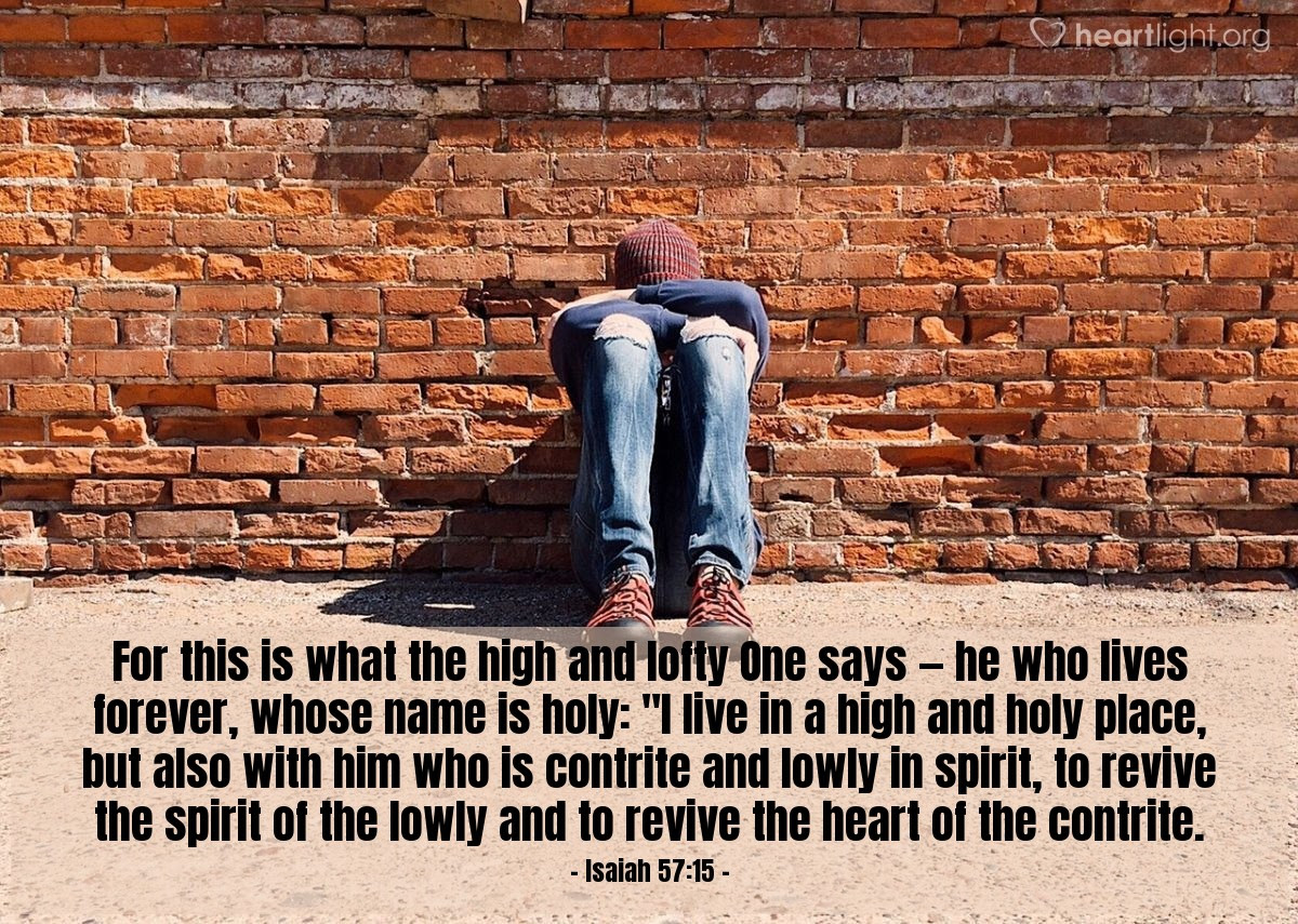 Illustration of Isaiah 57:15