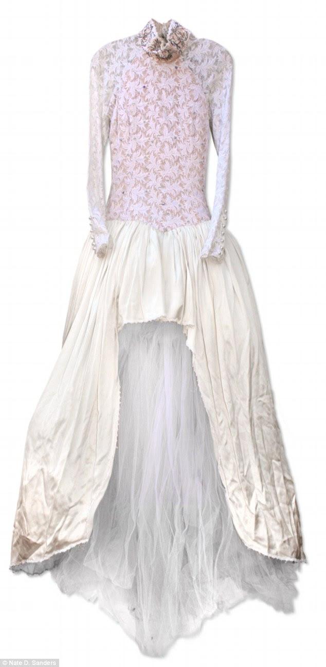 Prince's ExWife Selling Engagement Ring, Wedding Dress, Rhinestone