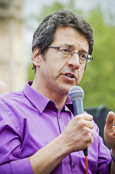 George Monbiot. Foto de lewishamdreamer, Flickr.