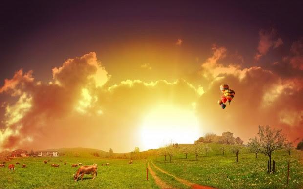 Εντυπωσιακές εικόνες από την ανατολή του ήλιου!