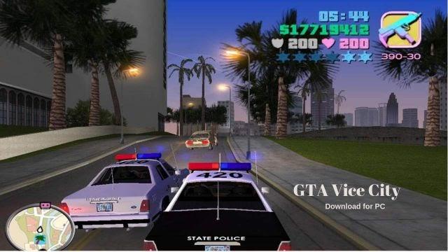 GTA Vice City - Grand Theft Auto free download