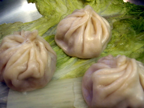 Steamed xiao long bao