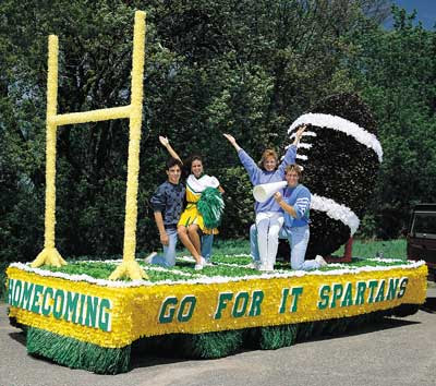Homecoming Float Themes For High School