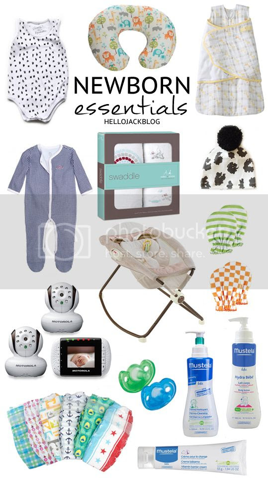 Hello Jack Blog: Newborn Essentials