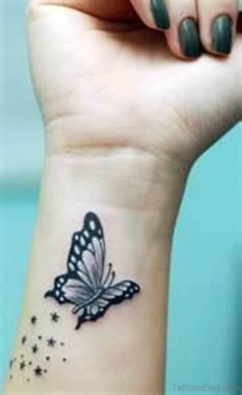 15 Fabulous Butterfly And Star Tattoos On Wrist