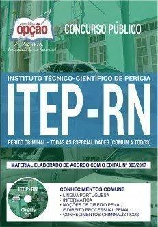 Apostila ITEP-RN PERITO CRIMINAL