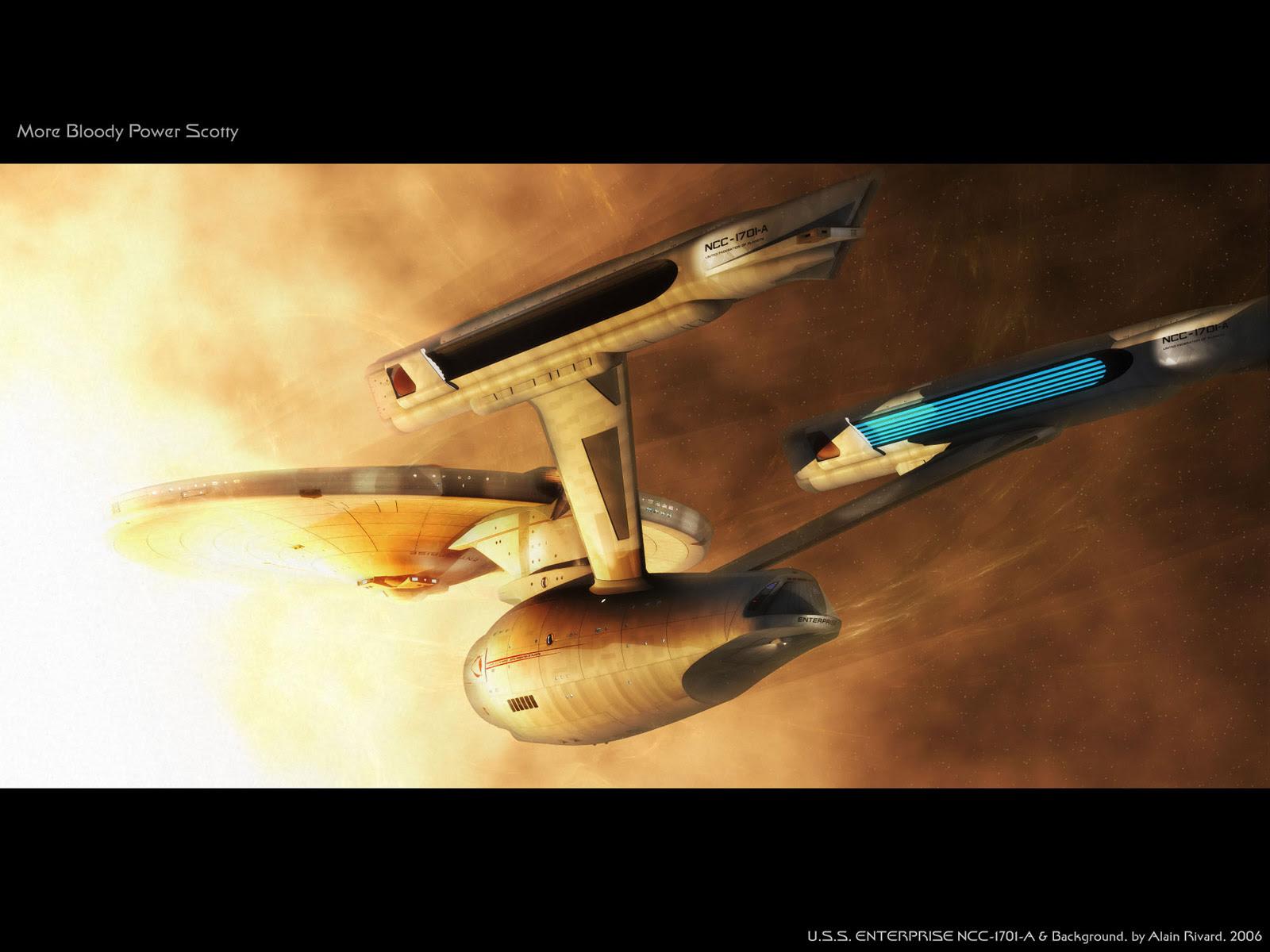 Star Trek Fan Tumblr U S S Enterprise Ncc 1701 A Wallpaper