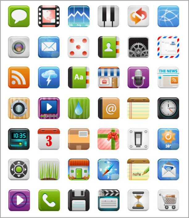 17 Application Icons Images Application Folder Icon Web