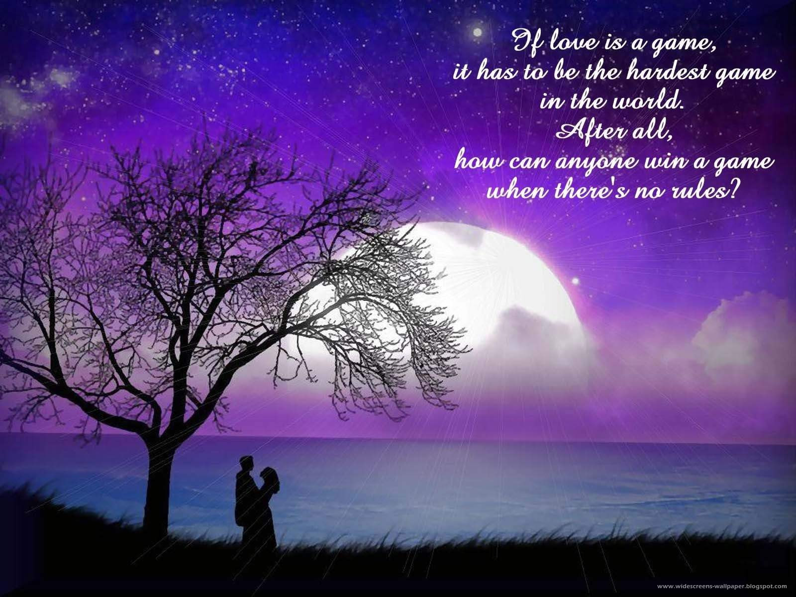 Romantic Love Quotes HD wallpaper Romantic Love