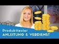 Online geld verdienen produkttester Online Geld Verdienen mit Heimarbeit - Die besten Einnahmequellen