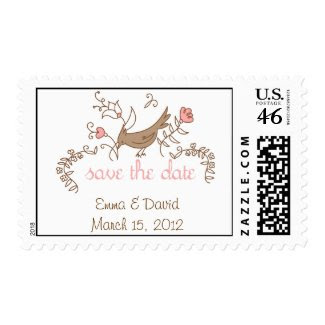 Sweetest Save the Date Postage