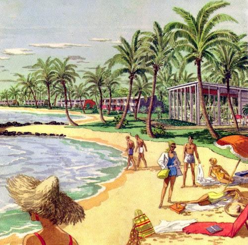 Dorado Beach Resort - 1958 - Puerto Rico