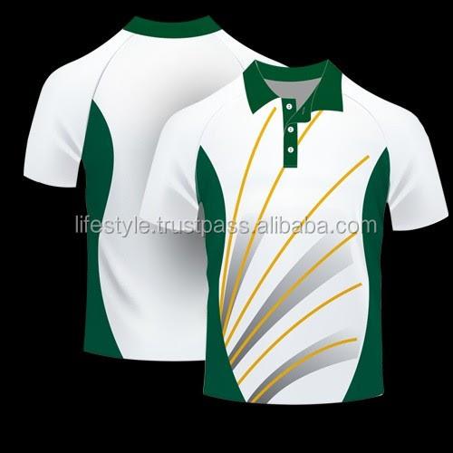 Polo Shirt Design Green Combination
