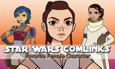 Star Wars ComLINKS   Anakin and His Angel