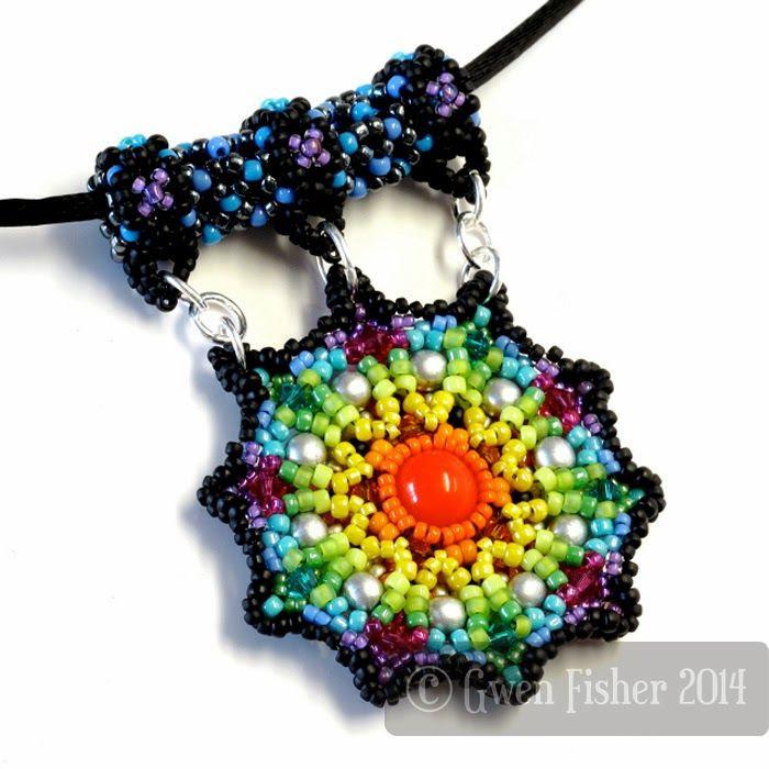 gwenbeads: Rainbow Mandala