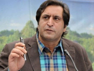 File image of Sajjad Lone. News18